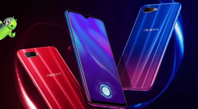 Oppo K1 é oficial com o scanner de impressões digitais