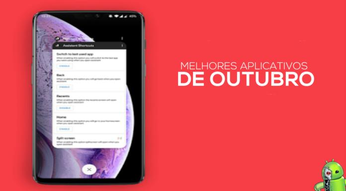 Os Melhores Aplicativos de Outubro para Android