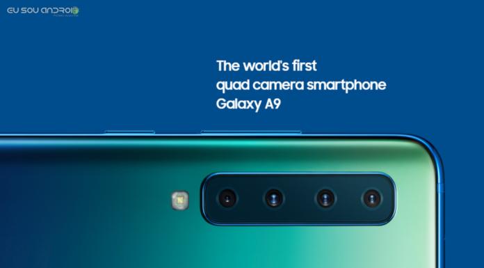 Samsung Galaxy A9 2018 é o primeiro smartphone com câmera quádrupla do mundo