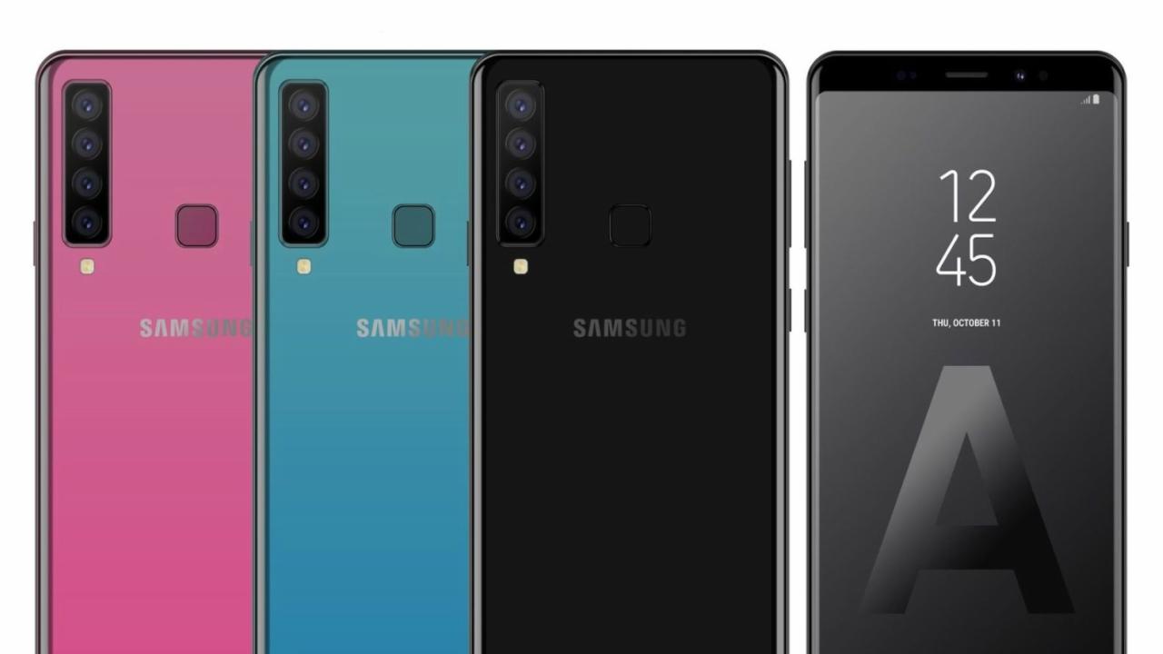 Samsung Galaxy A9 Star Pro Poderá Ter quatro câmeras na parte de trás