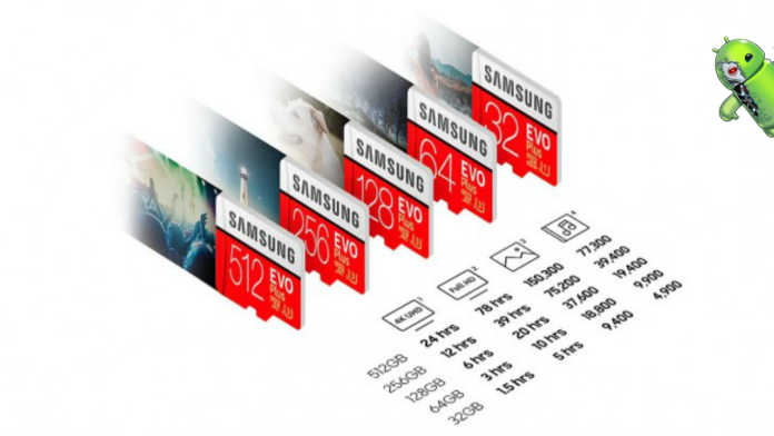 Samsung lança seu primeiro cartão microSD de 512 GB