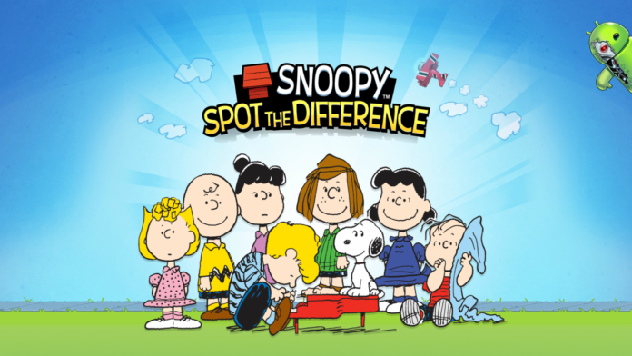 Snoopy Spot the Difference Disponível para Android