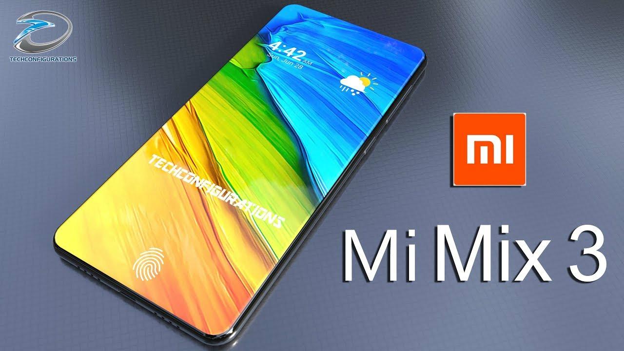 Xiaomi Mi Mix 3 pode ser revelado em 15 de outubro