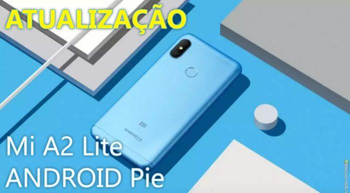 Android Pie Para o Mi A2 Lite chegou! capa 1