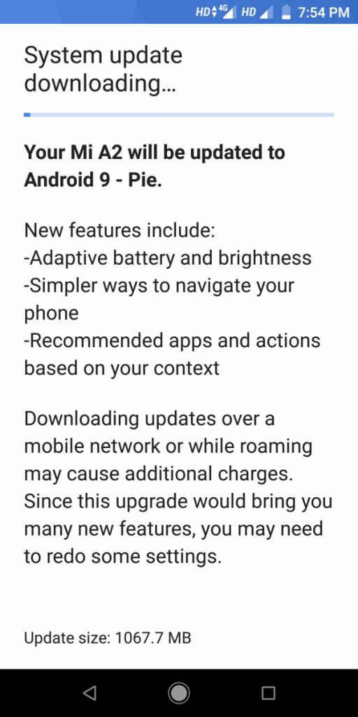 Android Pie Para o Xiaomi Mi A2 é Lançado!