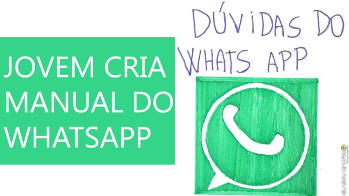 Conheça o Manual do WhatsApp que está fazendo sucesso na Internet