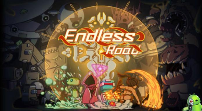 Endless Road Disponível para Andoid