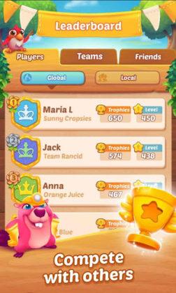 Farm Heroes Champions Disponível para Android