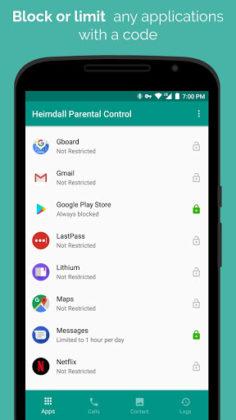 Heimdall Parental Control