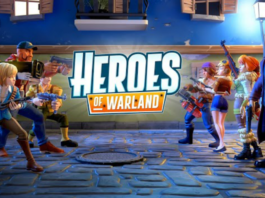 Heroes of Warland - PvP Shooting Arena Disponível para Android