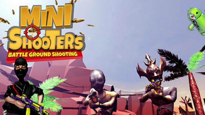 Mini Atiradores: Campo de batalha Tiroteio Jogos Disponível para Android