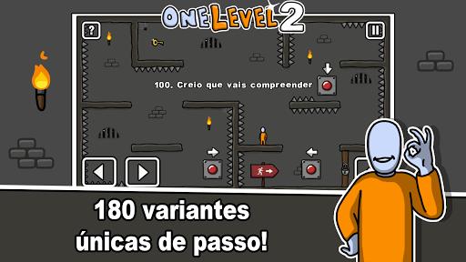 One Level 2: Stickman Jailbreak