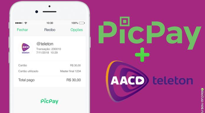 PicPay Cria Campanha Criativa Para Doar 100 Mil Reais Para o Teleton! capa 1