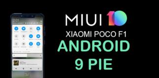 Pocophone F1 Está Recebendo Android Pie Via MIUI Beta CAPA 1