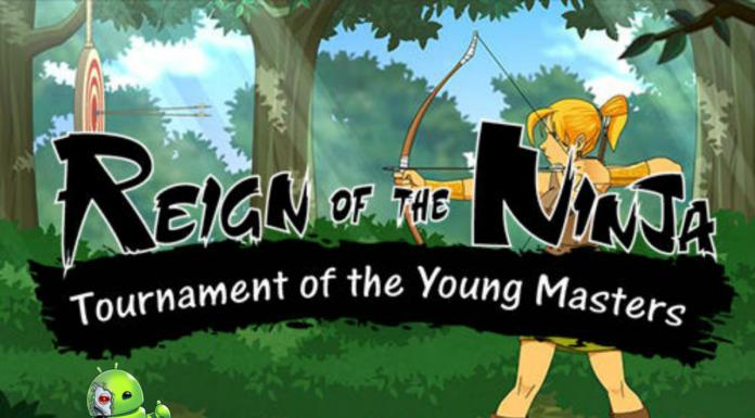Reign of the Ninja Disponível para Android