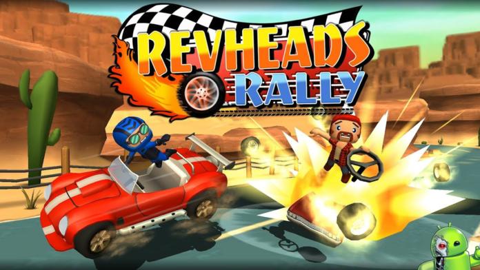 Rev Heads Rally Disponível para Android