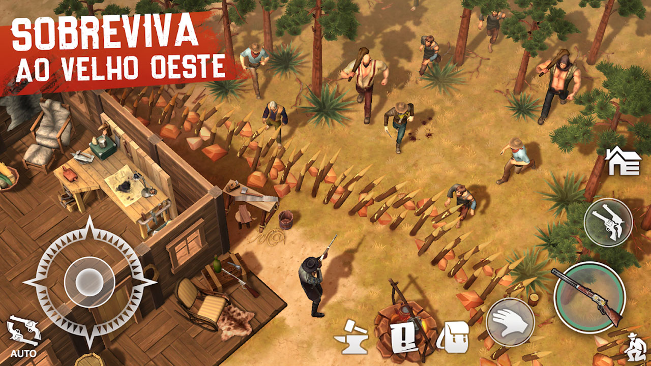 Westland Survival Um Jogo no Estilo Red Dead Redemption 2 para Android capa 2