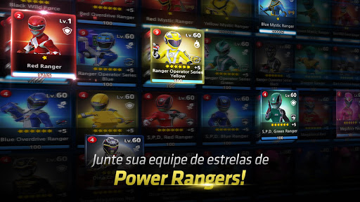 Power Rangers: All Stars disponível para Android