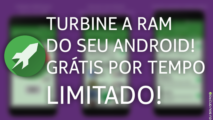 APROVEITE JÁ! RAM & Game Booster Grátis por Tempo Limitado! capa 1