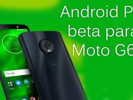 Android Pie Beta para Moto G6 capa 1