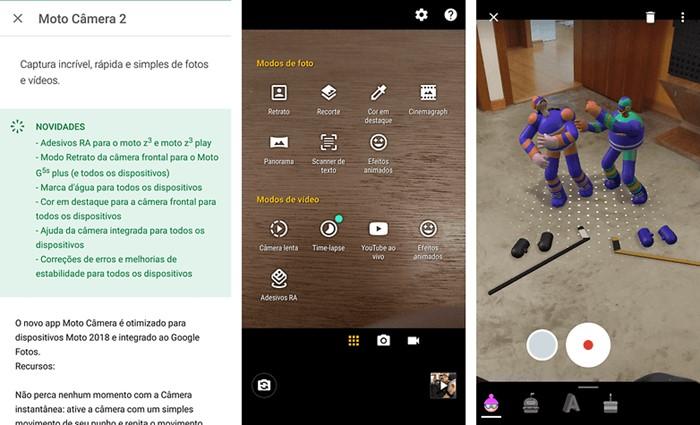 Atualização da Moto Câmera traz diversas novidades 1
