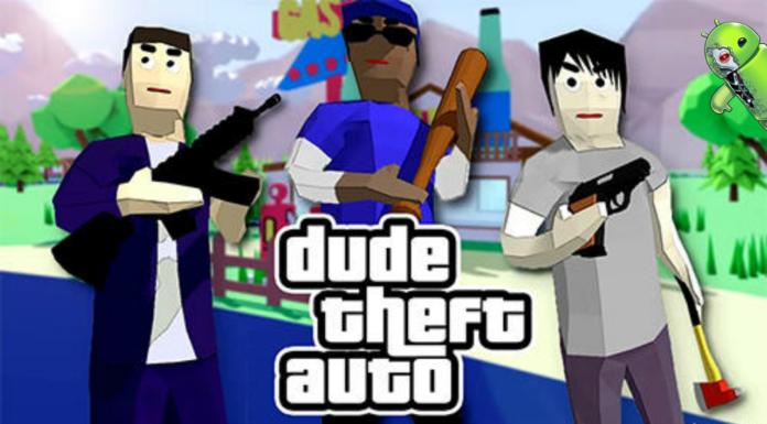 Dude Theft Wars v0.84b MOD APK