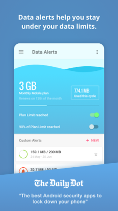 GlassWire - Monitor de Uso de Dados