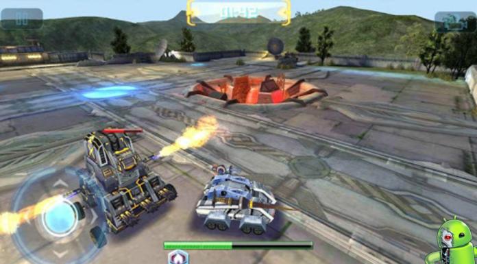 Guerra dos robôs Disponível para Android