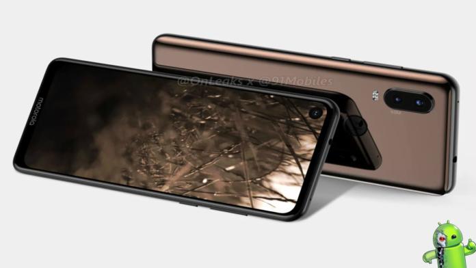 Motorola P40 Aparece mostrando