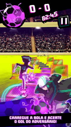 Neon Soccer: Sci fi Football Clash & Epic Soccer