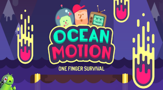 Ocean Motion - One Finger Surviva Disponível para Android