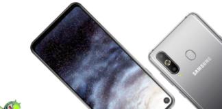Samsung Galaxy A8s é oficial