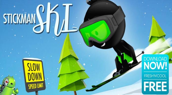 Stickman Ski Disponível para Android