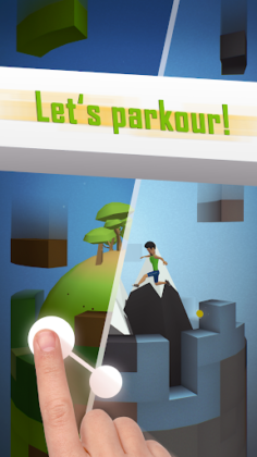 Tetrun: Parkour Mania - free running game