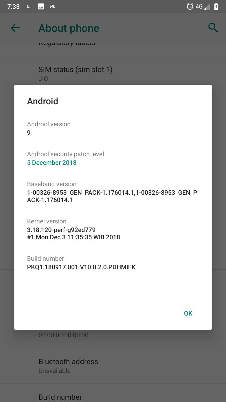 Xiaomi Mi A1 está recebendo Android Pie em versão Beta (9)