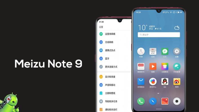 Confirmado! Meizu note 9 virá câmera de 48 MP e Snapdragon 6150