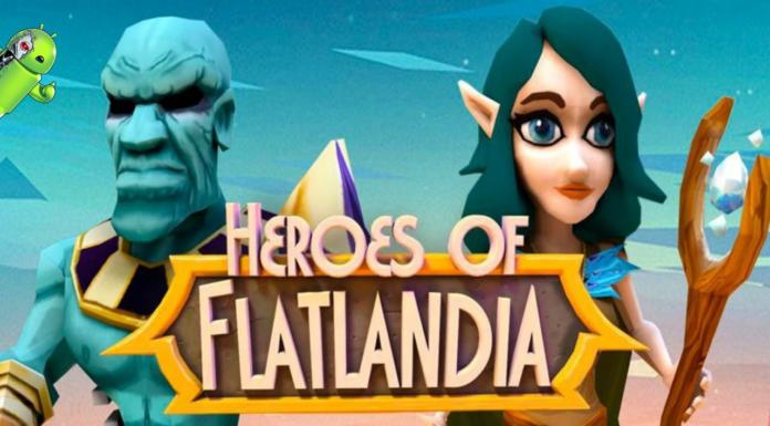 Heroes of Flatlandia Disponível para Android