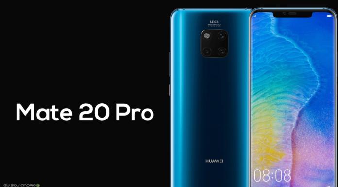 Huawei Mate 20 Pro chegando em 10 de janeiro
