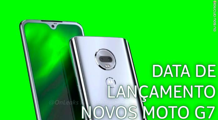 Linha Moto G7 Já Tem Data Marcada Para Lançar no Brasil! CAPA