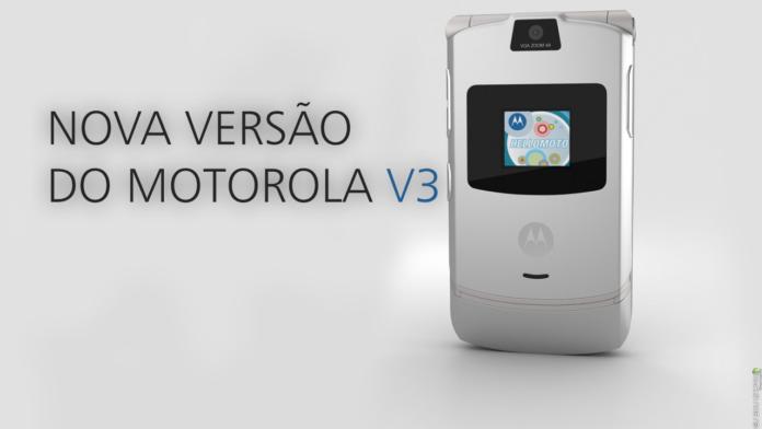 Motorola V3 Deve ser Relançado com Tela Flexível CAPA