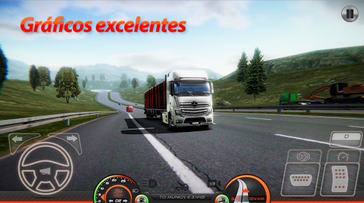 Simulador de caminhão Europa 2