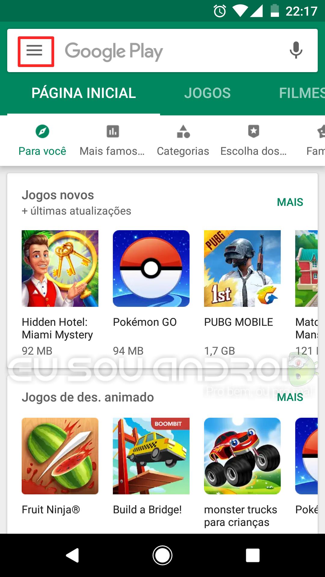 desinstalar vários apps ao mesmo tempo