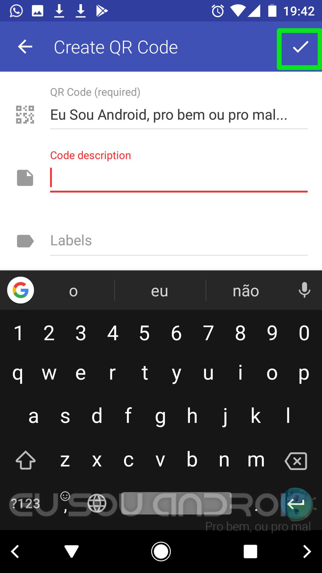 criar QR Code