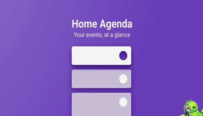 Calendar Widget by Home Agenda