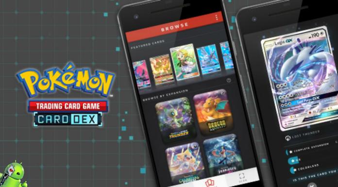 Dex de Cartas do Pokémon Disponível para Android