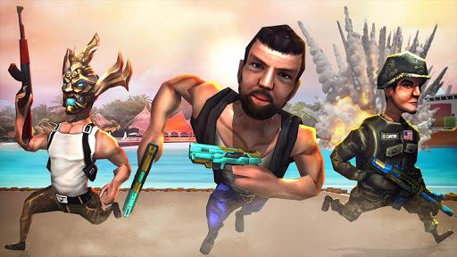 Mini Atiradores: Campo de batalha Tiroteio Jogos