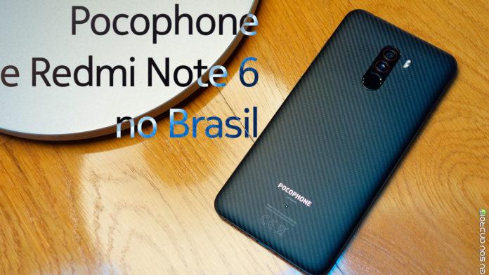 Pocophone F1 e Redmi Note 6 Serão Vendidos em Lojas Físicas no Brasil capa