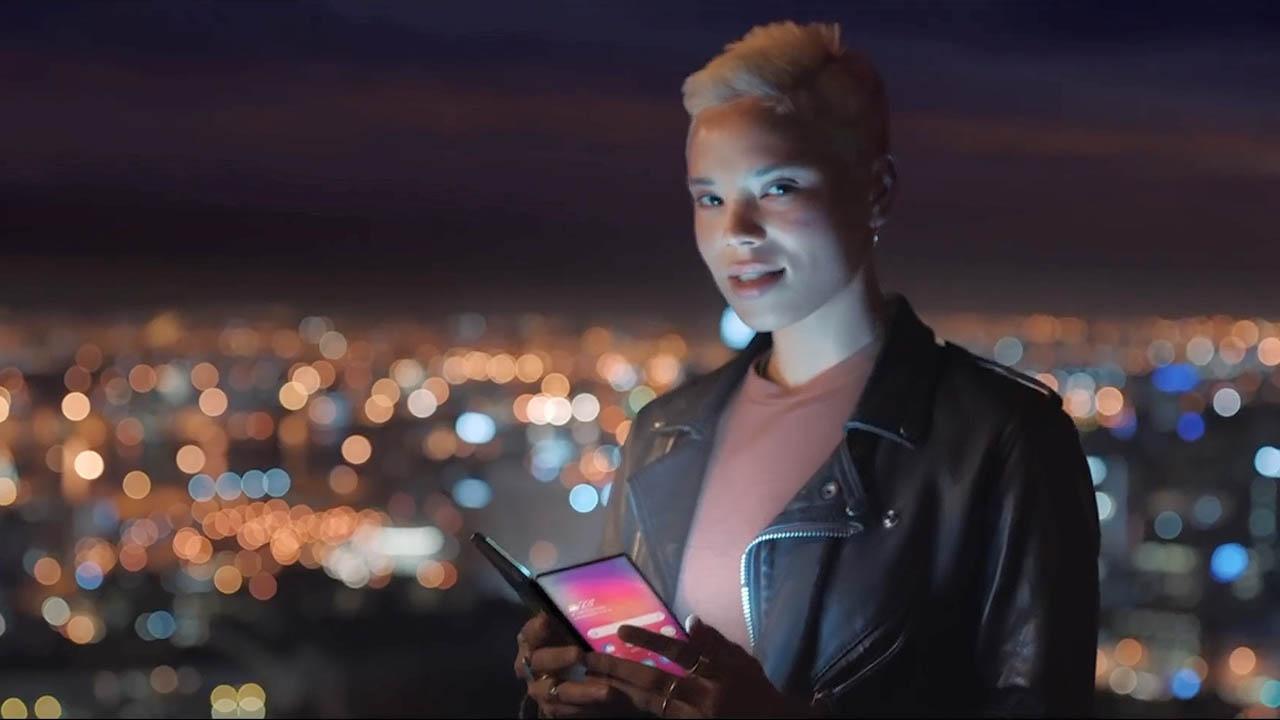 Smartphone dobrável da Samsung aparece em nova propaganda capa eu sou android