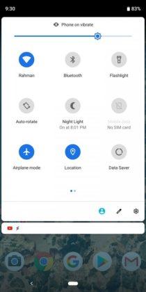 Veja Como Será o Modo Escuro no Android 10 Q (6)