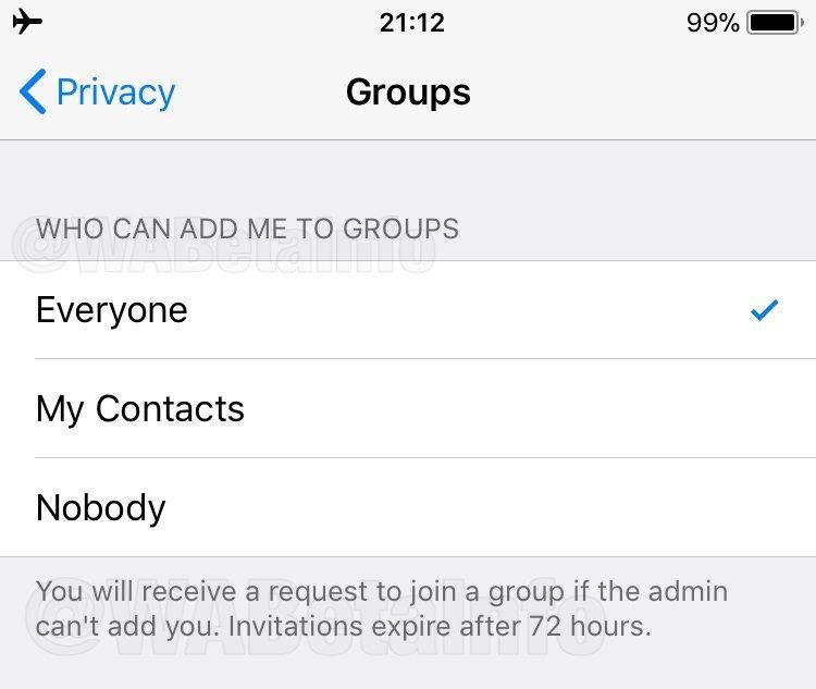 WhatsApp enfim vai perguntar se você quer entrar em grupos